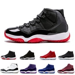 2550bc874 Men Low Top Basketball Shoes White UK - Top Quality 11 Gym Red Chicago  Midnight Navy