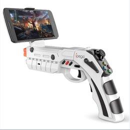 Discount gaming controller for mobile - iPEGA PG-9082 Controle Para Celular Arma Gun Controller AR Mobile Gaming For Smart Phone Bluetooth Controller for Androi