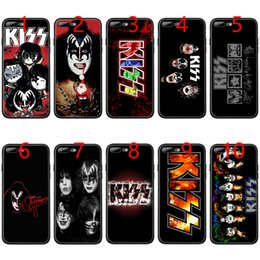 Iphone 6s Plus 5.5 Australia - Gene Simmons Kiss band Soft Black TPU Phone Case for iPhone XS Max XR 6 6s 7 8 Plus 5 5s SE Cover