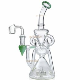 Vortex Bongs UK - Heady Vortex Recycler water pipe glass bong hitman smoke pipes bongs cyclone perc bubbler dab oil rigs accessories hookahs