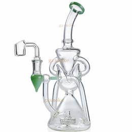 $enCountryForm.capitalKeyWord UK - Heady Vortex Recycler water pipe glass bong hitman smoke pipes bongs cyclone perc bubbler dab oil rigs accessories hookahs
