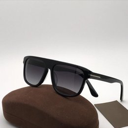 16c5a5b4ad Selling classic black square frame sunglasses 0628 fashion designer glasses  simple style top quality anti-UV 400 lens with original box