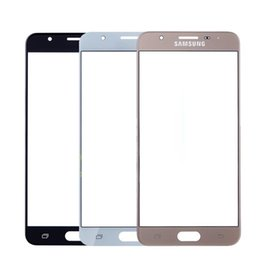 Discount glasses without lens - Screen For Galaxy J5 2016 J510F J510M Outer Glass Top Front Lens Front Screen Cover (Without digitizer)