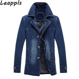 Discount mens blazers jeans - Leappls Plus Size 4XL Mens denim Blazers Fashion Brand jeans Blazer British's Style Slim Fit autumn suit jacket Ter