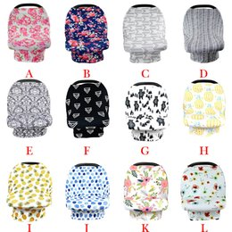 Scarf Shops Australia - Nursing Cover Scarf for Mum Breastfeeding Baby Car Seat Canopy Shopping Cart Cover for Unisex Babies