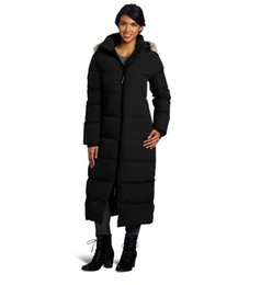 $enCountryForm.capitalKeyWord UK - Canadian women's outdoor leisure and thickening goose down clothing, warm and cold proof, extra long cold resistant down garment