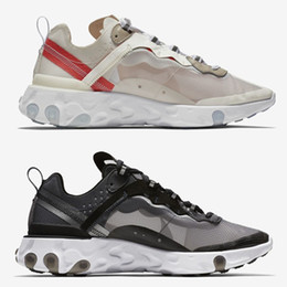 pink boxing shoes for men 2019 - 2018 Epic React Element 87 Undercover Men Running Shoes For Women Designer Sneakers Sports Mens Trainer Shoes Sail Light