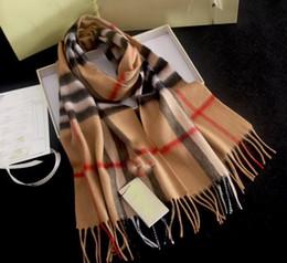 Vente en gros Echarpe en cachemire femme angleterre angleterre livraison gratuite pour femmes Designer femmes foulards carrés wraps avec étiquette 180 * 70