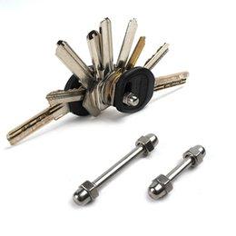 Simple Keychain Tools - Мини-органайзер для складных ключей EDC Key Holder Карманный зажим из нержавеющей стали
