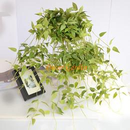$enCountryForm.capitalKeyWord NZ - 94cm Simulation green clematis wall decoration pendant artificial fake green plants simulation flower vine for home wedding supplies
