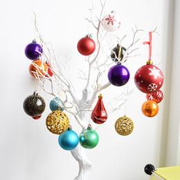 Christmas Decors Suppliers Australia - Mixed Frames Shapes 30-50PCS Set DIY Hand Creative Home Decor Wedding Party Suppliers Decoration Christmas Ball Ornaments