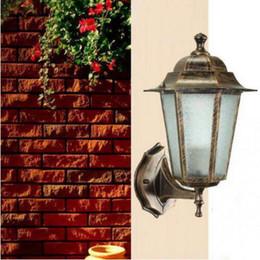 $enCountryForm.capitalKeyWord Canada - Antique garden light sconce Aluminum outdoor lighting vintage outdoor wall lamps balcony wall light fixtures Landscape lighting