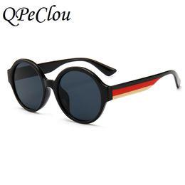 7d7e7273202 QPeClou Brand Three Colors Frame Round Sunglasses Women Men Unique Mirror  Sun Glasses Female Male 2018 New Eyeglasses Oculos
