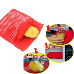 $enCountryForm.capitalKeyWord NZ - 1pc Baked Microwave Potato Bag Cooker Bag Cooks Quick Fast 4 Potatoes in 4 Minutes Kitchen Gadget Tools