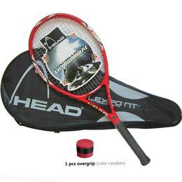 Высококачественные ракетки для теннисных ракет с углеродным волокном, оснащенные сумкой для теннисного тенниса 4 1/4 racchetta da