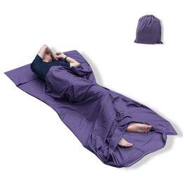 Ultralight folding bag online shopping - Ultralight design Outdoor Sleeping Bag cm Cotton Camping Hiking Bag Liner Portable folding Travel Bags Colors H3