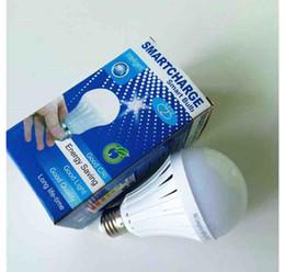 E27 big bulb lEd light online shopping - E27 W W W W LED Emergency Bulb Lamp Water Light Manual Automatic control degree light Street vendors use New