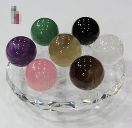 china ball lighting Australia - Natural crystal seven array crystal seven array responsive ball ornaments