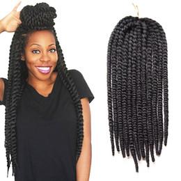 $enCountryForm.capitalKeyWord Canada - Havana Mambo Twist Crochet Braids Hair 10inch 18inch 12root pack Synthetic Braiding Hair Box Braids 100% Kanekalon Braiding Hair Extensions