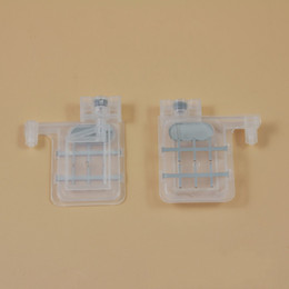 Connectors 4mm Australia - transparent damper double clips with square head for Epson DX4  DX5 solvent resisted, 4mm connector