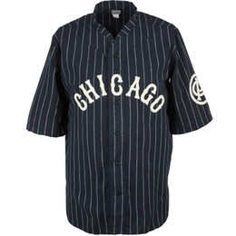 Chinese  Chicago American Giants 1926 Road Baseball Jersey Doulble Stiched Logos & Name & Number Customizable For Men Women Youth manufacturers