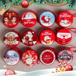 $enCountryForm.capitalKeyWord NZ - Christmas Box Decoration Elk Tree Old Man Gift Hanging Gift Storage Box Cartoon Happy New Year Merry Chirstamas