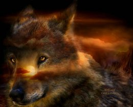 $enCountryForm.capitalKeyWord Australia - Modern Contemporary Fantasy Wolf Animal Art Abstract Oil Painting Giclee Print On Canvas Wall Art For Living Room Home Poster Decor MY482