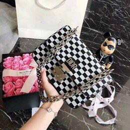 Discount chain style designer clutch - Pink sugao 2018 famous designer women handbags shoulder bags genuine leather high quality luxury handbags purses chain b