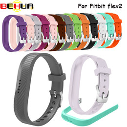 $enCountryForm.capitalKeyWord NZ - Silicone Sports Smart Wristbands Strap Holder Replacement Case with Stainless Steel Buckle for fitbit flex 2 flex2 Smartwatch