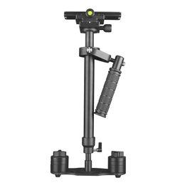 Dslr Cameras Free Shipping Australia - 48cm Max load 5kg Handheld Stabilizer Steadicam Steady Cam for Camcorder Camera Video DV DSLR Free Shipping