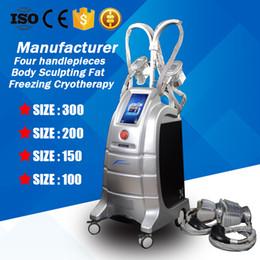 $enCountryForm.capitalKeyWord Canada - Cryo Slimming Machine Fat Freezing Weight Loss Cryotherapy Lipofreeze Cryo Body Sculpting Salon Equipment With 4 Heads Sizes 100 150 200 300