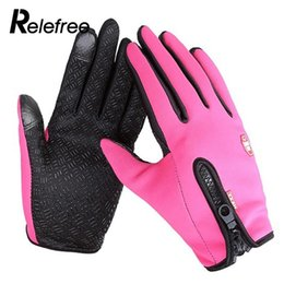 Wholesale Riding Glove Riding Waterproof Material Practical Mobile Phone Skiing Durable Warm Gloves Touch Screen Keep Warm Ski Gloves