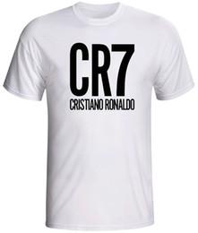 9f27a18245f8 cristiano ronaldo shirt CR7 soccer Sleeve Tee Men T-Shirt Free Shipping Top  Tees Hot 2018 Summer Men'S T Shirt Fashion