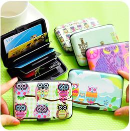 $enCountryForm.capitalKeyWord Australia - Factory direct selling owl illustration cute card bag female multi card bus bank identity card package