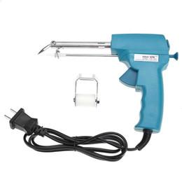 110-240 V 60 W pistola de soldadura manual soldadura automática herramienta de alimentación de alambre soldador de soldadura eléctrica para circuito borad en venta