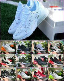 buy popular 117d9 69b55 2018 Air New 270 Shoes Off Black White Men Flair Chaussures triples Maxes  Mujer 270s Zapatillas