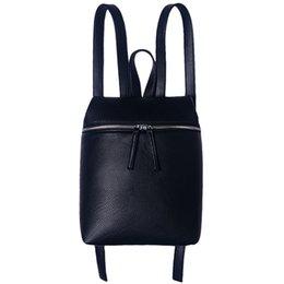 Women Leather Backpack High Quality Backpacks For Teenage Girls School Bags  Fashion Vintage Solid Black Shoulder Bag 01fda25f21728