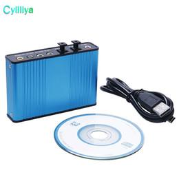 $enCountryForm.capitalKeyWord UK - 20set Optical USB Sound Audio Adapter 4 Channel 5.1 Audio Fiber Sound Card S PDIF Controller for PC