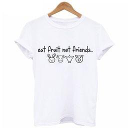 f301e7508 Vegan Happy Piglet T-shirt Women Plant clothing vegetarian kawaii Tshirt  cute pig printed Short Sleeve female T shirt WT578
