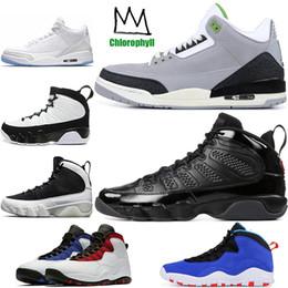 the latest 938f0 389dd Nike Retro Air Jordan AJ Barato Nuevo 9 9s zapatos de baloncesto para hombre  LA Bred OG Antracita El Espíritu 3s Clorofila blanco puro Tinker 10 cemento  ...