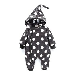$enCountryForm.capitalKeyWord UK - Winter Pouf Dot Baby Rompers Overalls Bodysuit Clothes Jumpsuit Newborn Girl Boy Down Cotton Snowsuit Kids Infant Snow Wear
