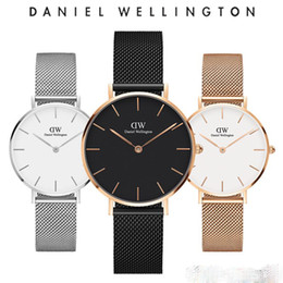 Wholesale The new fashionable male and female steel band watches of are mm mm and mm men s rose gold mesh and brand quartz watches