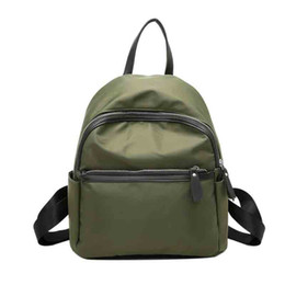 edf343d172db Small Book Bag Style Backpack Australia - Women s Nylon Solid Color  Exquisite Small Backpack Ladies And