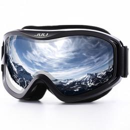$enCountryForm.capitalKeyWord Canada - JULI Ski Goggles,Winter Snow Sports Snowboard Ski Mask with Anti-fog UV Protection Double Lens for Men Women Snowmobile Skating