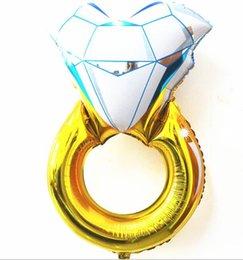 $enCountryForm.capitalKeyWord UK - 30 inch Lover Wedding Marriage Balloon Diamond Balloon Bride Ring Engagement Foil Valentine Balloons Party Toys lin2467