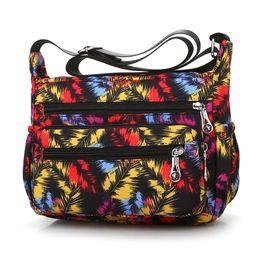 Cloth hobo bags online shopping - Flarol Cloth Shoulder Bag Lightweight Waterproof Oxford Messenger Bag Cute Rural style Hobos Contracted Joker Women Leisure