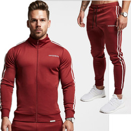$enCountryForm.capitalKeyWord Canada - 2018 Spring Autumn Men'S Fashion Sportswear Sporting Men Clothes Track Tracksuits Male Sweatshirts Men Plus Size Set