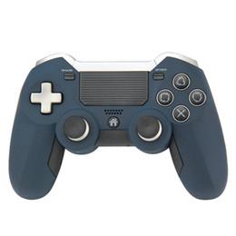 Venta al por mayor de DLX Ultimate 2.4G Controlador Gamepad Inalámbrico Para PS4 Controlador de Juego Vibración Joystick Gamepads Para Juego de PC