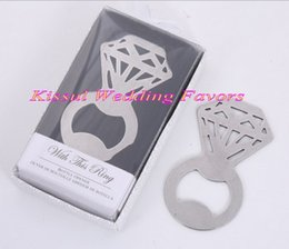 $enCountryForm.capitalKeyWord NZ - (20 Pieces lot) Unique Wedding gift of Sparkle and Diamond Bottle Opener Favors For Wedding anniversary favors and Bridal showers