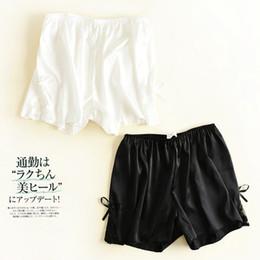 $enCountryForm.capitalKeyWord NZ - 2 pcs New Casual Elastic silk Lace Bow short boxer for women female girl lady Quality Fashion Free size Underwear lingerie 16111